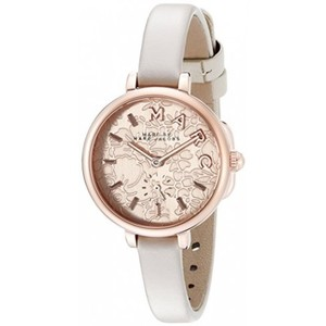 Marc by Marc Jacobs Marc Jacobs Women's Sally Three Hand Leather Watch MJ1421