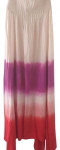 Natural and tie-dye Maxi Dress by Roxy