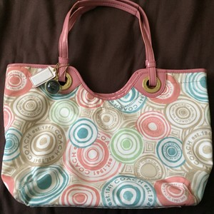 Coach Purse Tote in Pink