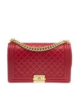 Chanel Le Boy Quilted Leather Shoulder Bag