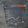 7 For All Mankind Blue Denim Shorts Size 30 (6, M) 7 For All Mankind Blue Denim Shorts Size 30 (6, M) Image 6