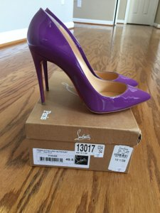 Christian Louboutin 40.5 10 10.5 Purple Pumps