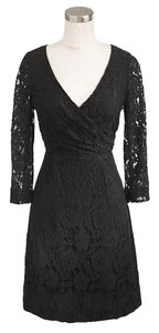 J.Crew Lace Sleeved Classic Dress