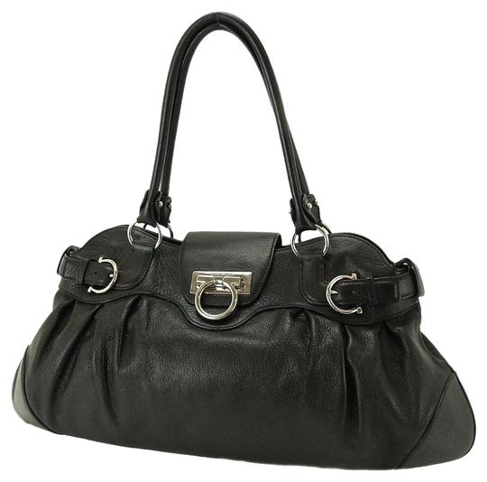 Preload https://img-static.tradesy.com/item/19400/salvatore-ferragamo-marisa-black-calfskin-satchel-0-2-540-540.jpg