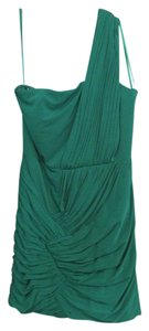 Gianni Bini Emerald One Shoulder Dress