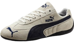 Puma khaki with brown leather accents Athletic