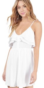 Tobi short dress White on Tradesy