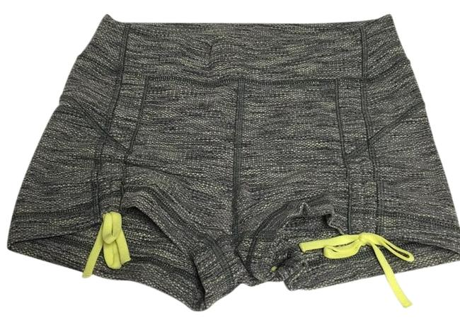 Item - Gray Yellow Activewear Bottoms Size 6 (S, 28)