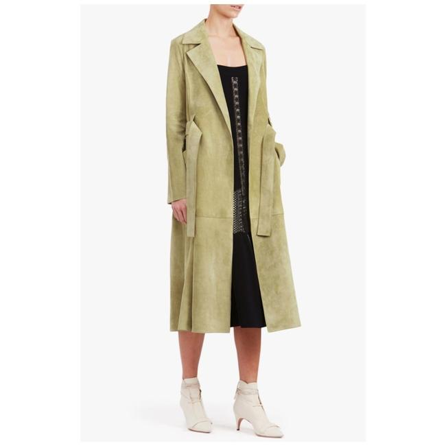 f06df4a1747 Derek Lam New! Suede Leather Trenc - Retail $5,595 Trench Coat - 78 ...