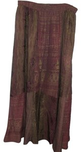 Threads on Threads Maxi Skirt multi