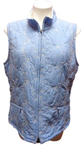 Croft & Barrow Embroidered Vest