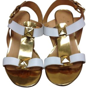 Kate Spade White & gold Sandals