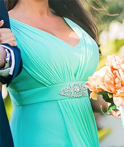 May Queen Mint Green Dress