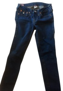 True Religion Skinny Pants Dark Blue