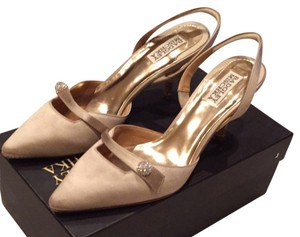 Badgley Mischka Nude Pumps