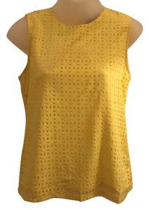 Cynthia Rowley Top Yellow