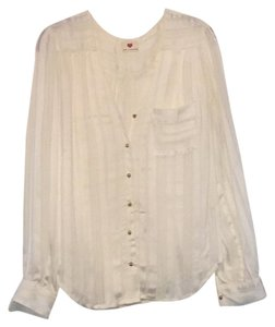 One Clothing Button Down Shirt ivory