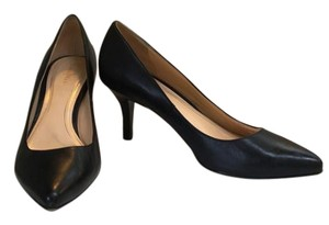 Cole Haan Pump Midheel Leather black Pumps