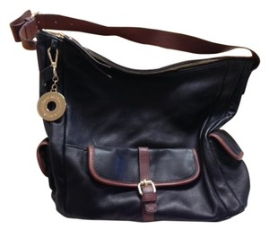 Isaac Mizrahi Leather Hobo Shoulder Bag