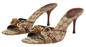 Gucci 12538 Brown, Tan Sandals