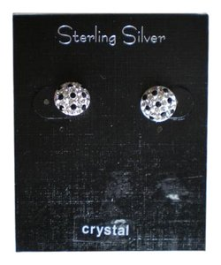 Other NEW $35.00 STERLING SILVER CRYSTAL EARRINGS CRYSTALS