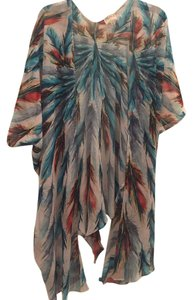 Lotta Stensson Feather Fan Tie Top