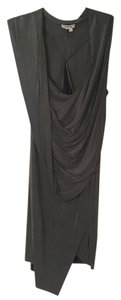 Helmut Lang Asymmetrical Draped Party Dress