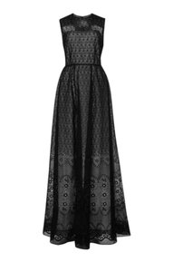 N°21 Made In Italy Luxury Silk Embroidered Evening Dress