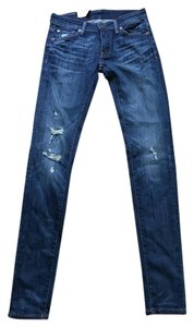 Denim & Supply Distressed Skinny Jeans-Distressed