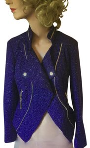insight Zipper Moto Fitted Glamour Purple Jacket
