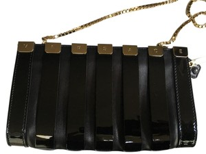 Versace Leather Black Clutch