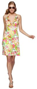 Lilly Pulitzer short dress Multi Floral Print on Tradesy