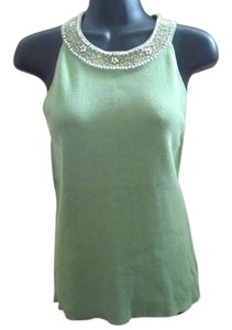 Ann Taylor LOFT Beaded Col Shoulder Sweater