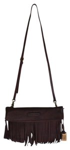 Frye Fringes Leather Cross Body Bag