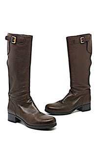 Prada Knee High Brown Boots