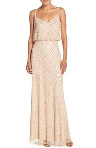 Adrianna Papell Champagne/Gold Nordstrom Item# 533366 Dress