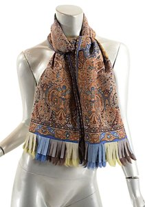 Etro ETRO Multi Color NWOT Wool & Silk Oblong Scarf/Shawl