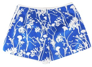 Kate Spade Cotton Floral Board Shorts Blue