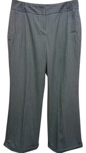 Apt. 9 Apt Pinstripe Dress Straight Pants Gray