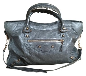 Balenciaga Classic City Satchel in Grey