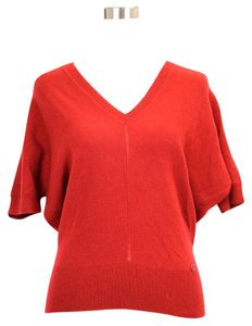 Gucci Ruby Cashmere V-neck Sweater