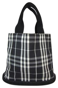 Burberry Black Nova Check Tote