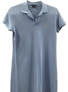 Ralph Lauren short dress Light blue on Tradesy