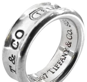 Tiffany & Co. Tiffany & Co 1837 Classic Ring Strrling Silver Size 5 1/2