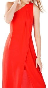 BCBGMAXAZRIA Fitted Lightweight Non-stretch Fabric Dress