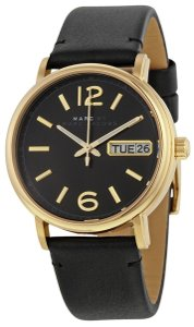 Marc by Marc Jacobs Marc Jacobs Women's Fergus Three Hand Leather Watch MBM1388