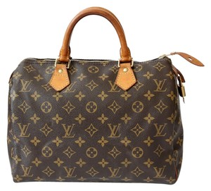 Louis Vuitton Vintage Satchel in Monogram