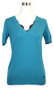 Gucci V-neck Lace Detail 325280 Sweater