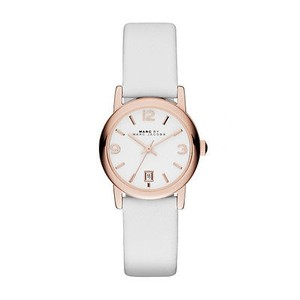 Marc by Marc Jacobs Marc Jacobs Women's Farrow Three Hand Leather Watch MBM1401