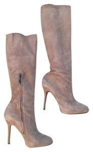 Sam Edelman Suede Putty Taupe Knee Taupe/Putty Boots
